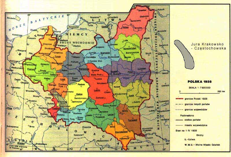 Mapa Polski Z 1939 R Related Keywords Suggestions Mapa Polski Z
