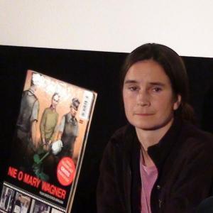Mary Wagner na premierze filmu