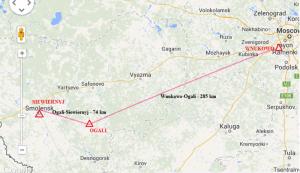 trasa iła-76 wg. stenogramów