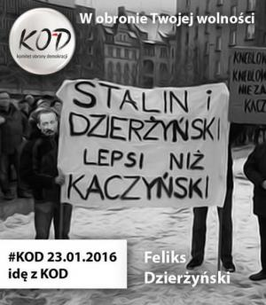 Postbolszewicka mafia kocha Stalina i Dzierżyńskiego