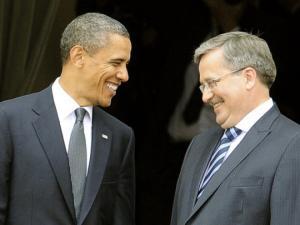 Komorowski - Obama