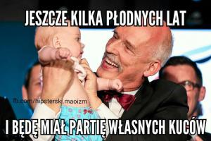 Korwin-Mikke a dzieci i Wilecki