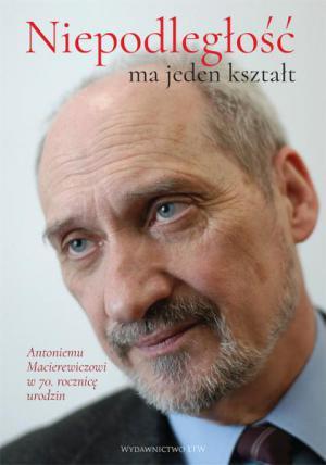 książka dedykowana A. Macierewiczowi