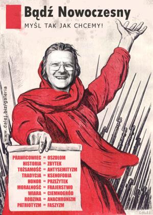 Michnik_badz_nowoczesny_Myśl jak chcą bolszewicy