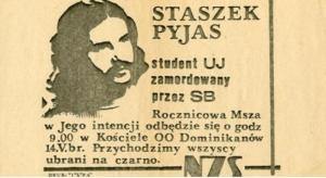 Pyjas zamordowany przez UB - ulotka