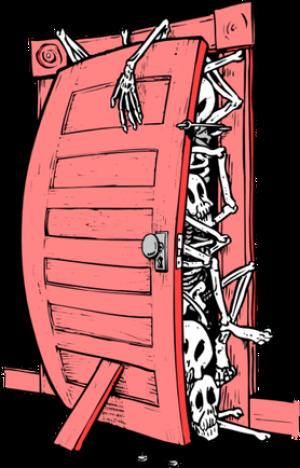 Trup w szafie