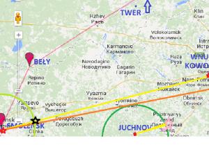 Hipotetyczny lot Iła-76