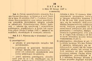 Ustawa o amnestii