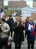 Protest przeciw niekupieniu Caracali