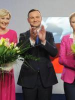 Prezydent A. Duda z rodziną