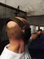 strzelectwo sportowe - zawody strzeleckie, broń: H&K Expert.