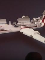 Katastrofa smoleńska - rozpad Tupolewa 154M