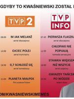 TVP z Kwaśniewskim jako prezesem - flaszka na śniadanie