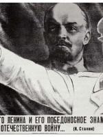 Stalin o duchu Lenina