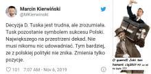 Nie odchodzę z polskiej polityki....zmieniam tylko POzycję ...na bagażowego w PSL